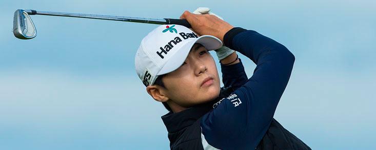 Sun Hyung Park, primera líder en el Evian
