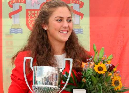 María Parra, brillante campeona de Europa