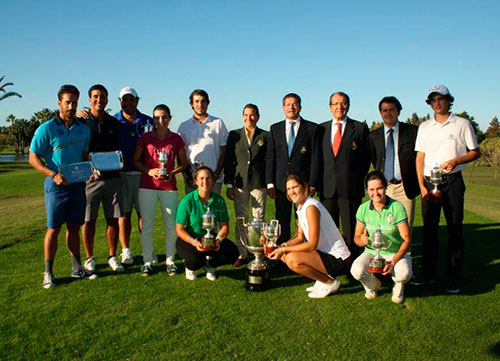 Felipe Barrena y María Parra, ganan la Copa Maestranza