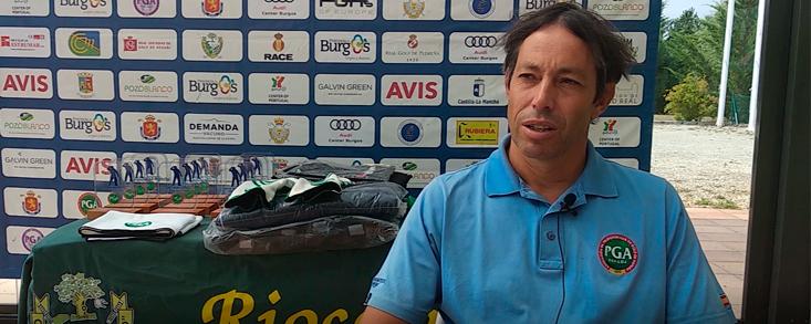 David Pastor: 'La prioridad es transmitir por qué hay que jugar al golf'