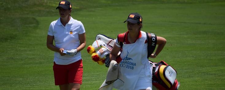 Las medallas del golf, cada vez más cerca para los españoles