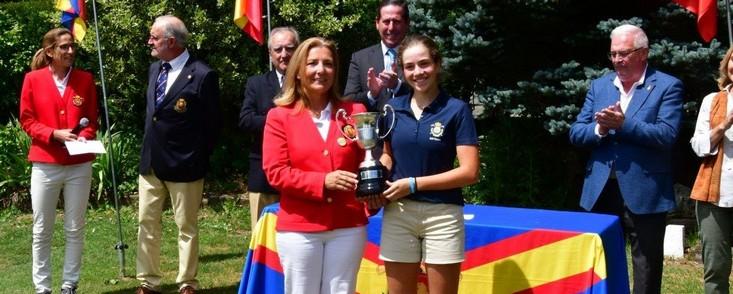 Paula Martí reaparecerá en el Estrella Damm Mediterranean Ladies Open