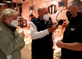 José Antonio Oñate y Guillermo del Campo, pasión por el Mercado de la Paz