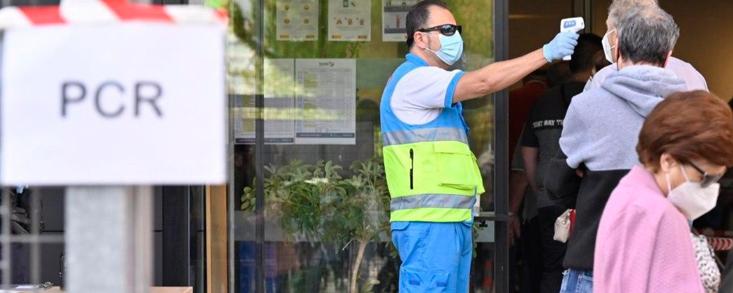 Los test de antígenos en 9 zonas básicas de Madrid