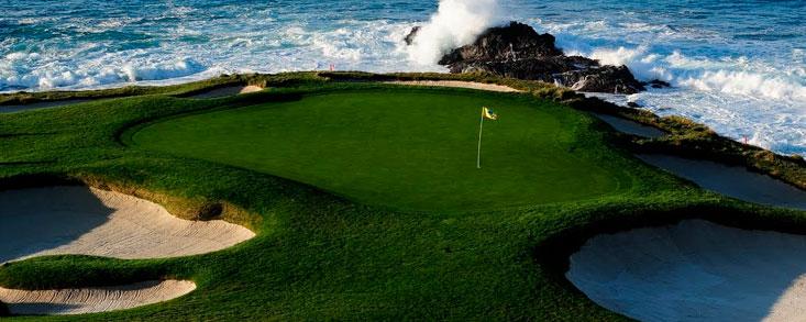 El espectáculo del golf continúa ahora en Pebble Beach