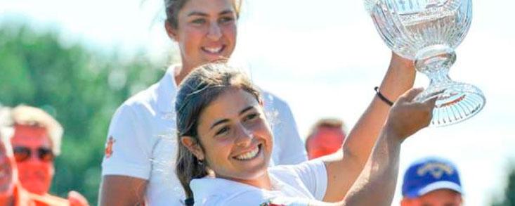 Ana Peláez gana el Annika Invitational Europe