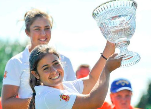 Ana Peláez gana el Annika Invitational Europe