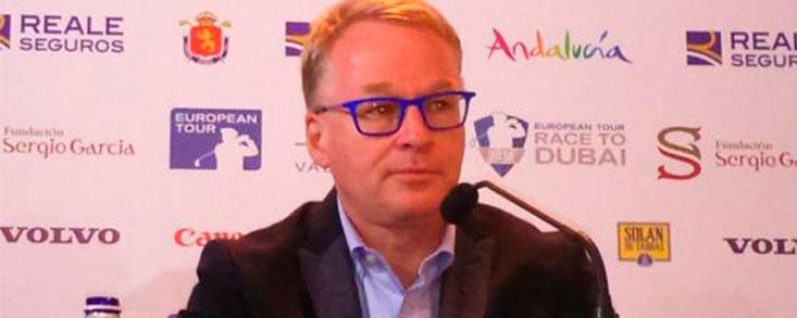 Keith Pelley: 'Nos gustaría tener más de un torneo en España'