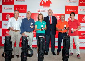El equipo de Raquel Carriedo se lleva el Pro Am del Santander Golf Tour del RCG La Peñaza