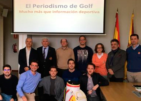 Inaugurado el II Curso de Periodismo de Golf