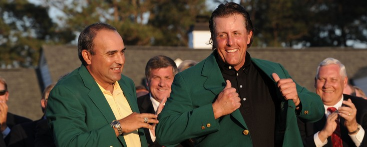 Mickelson, candidato sentimental