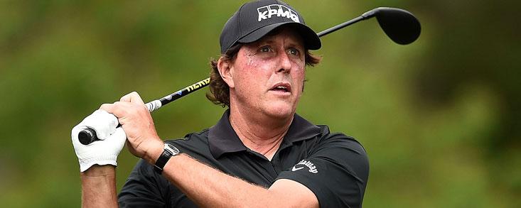 Mickelson: 'Soy muy feliz por empezar mi vigésimo séptima temporada en el PGA'
