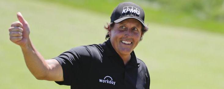 Mickelson impresionado tras jugar el Pro-Am con los promotores de la Premier Golf League
