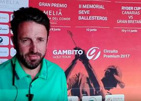 Jorge Piera, satisfecho con la Semana Grande del Golf en Tenerife