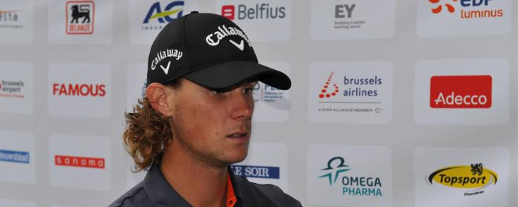 Thomas Pieters firma su mejor actuación en el European Tour