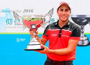 Carlos Pigem logra su primer título profesional