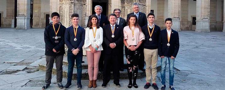 Mara Martínez y Ángel Soria, Medallas al Mérito Deportivo