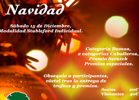 Golf Las Pinaillas prepara su torneo de Navidad