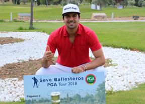 Gerard Piris estrena el Seve Ballesteros PGA Tour