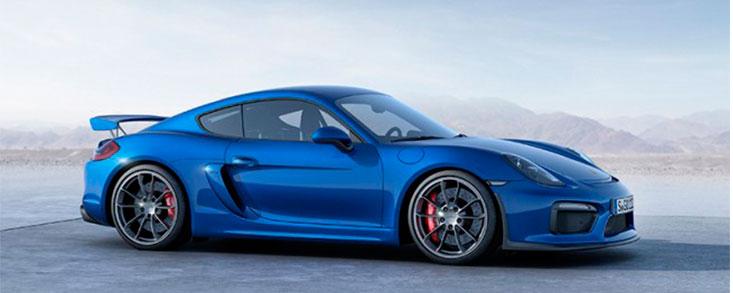 Porsche Cayman GT 4 Clubsport, versión competición