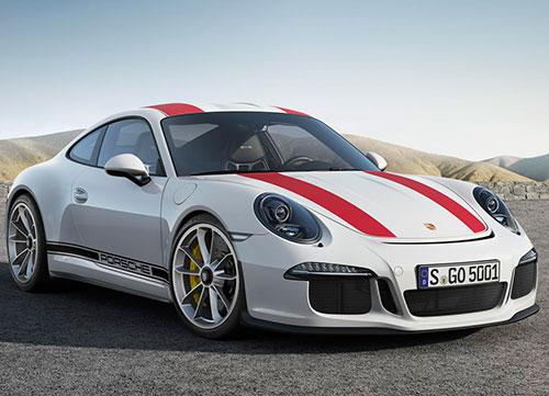 Emoción con altas prestaciones: Porsche 911 R