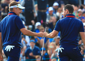 Poulter y McIlroy dan caza a USA