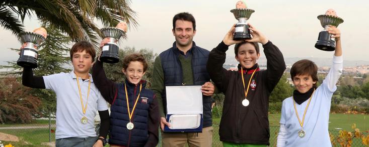 El Prado gana la primera prueba del III Circuito Interescolar