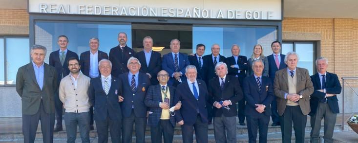 Reunión de Presidentes de Federaciones Autonómicas de Golf