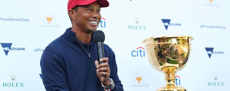 ¿Cuáles serán las cuatro elecciones de Tiger Woods para la President´s Cup?