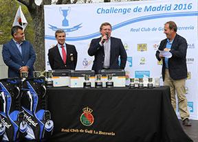 Ambiente de gala en el Pro-Am del Challenge de Madrid