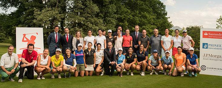 La magia de Izki Golf se une al Santander Tour