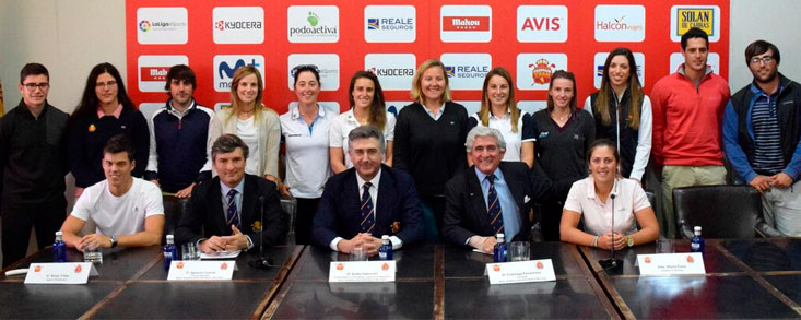 Escauriaza: 'Los golfistas profesionales representan fenomenalmente a España'