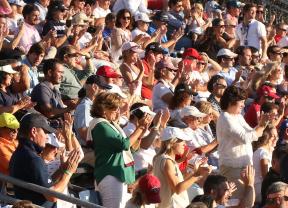 Casi 32.000 personas acudieron a la llamada del Mutuactivos Open de España