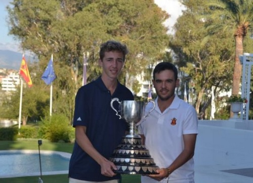 David Puig, brillante ganador en Guadalmina