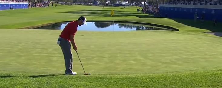Un putt para la historia del golf español