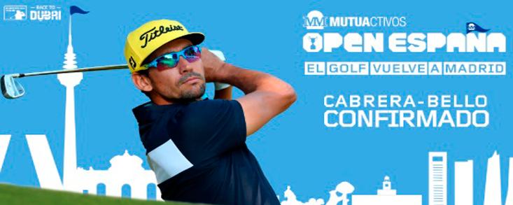 Rafa Cabrera Bello confirma su presencia en el Club de Campo Villa de Madrid