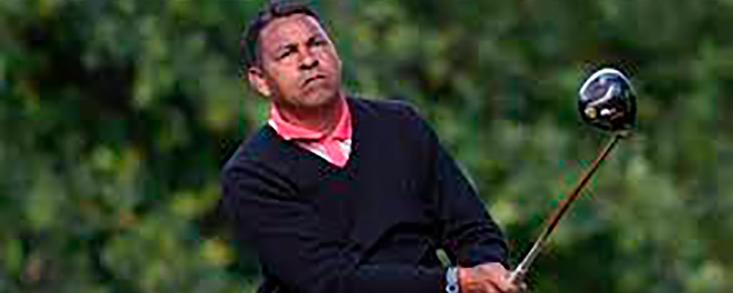 Rafael Gómez líder a la espera de que se reanude el Legends Tour