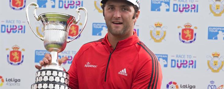 Rahm ganó en Madrid tras el Masters de Augusta de Reed