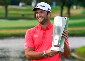 Jon Rahm firmó en el BMW Championship su quinta victoria en el PGA Tour