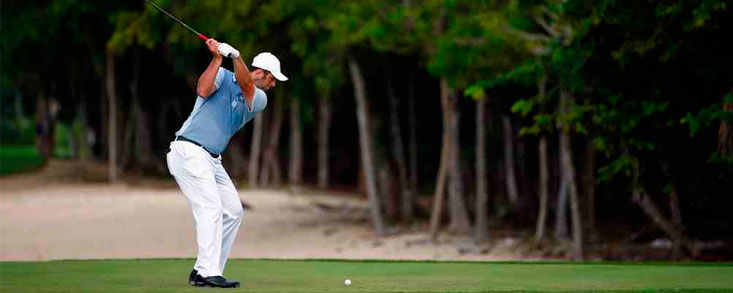 Jon Rahm roza el top ten en Playa del Carmen