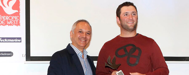 Jon Rahm compartió con la Fundación una jornada festiva del deporte