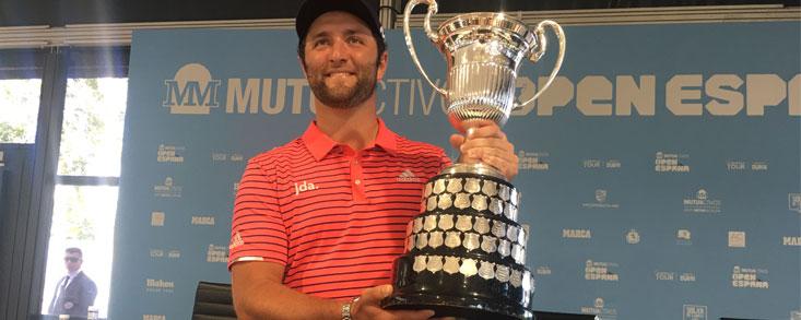 Jon Rahm (-22) suma su segundo Mutuactivos Open de España consecutivo