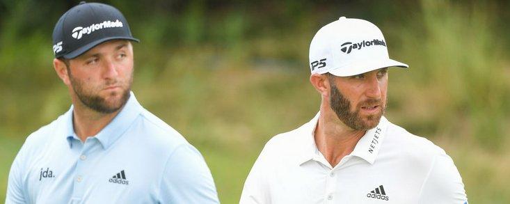 Johnson y Rahm se verán las caras en el partido estelar de la final de la FedEx Cup