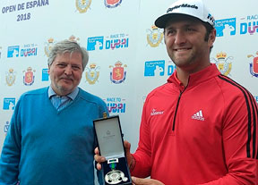 Jon Rahm recibe la Medalla de Plata al Mérito Deportivo