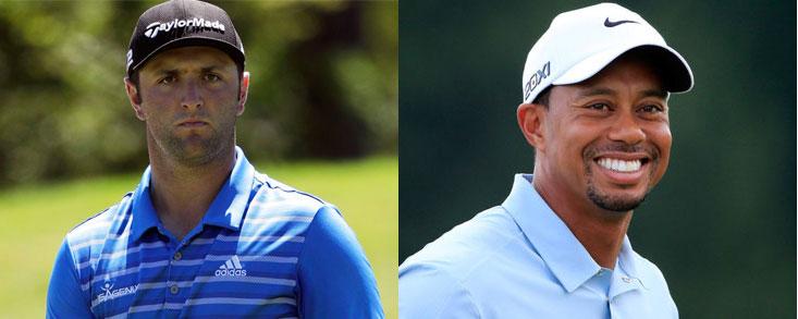 Rahm y Woods no jugarán juntos y el partido más deseado tendrá que esperar