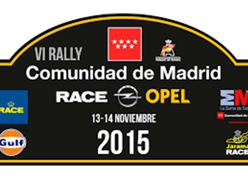 Todo a punto para el Rally Comunidad de Madrid