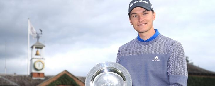 El golf europeo ya tiene una nueva estrella de 19 años, Rasmus Hojgaard