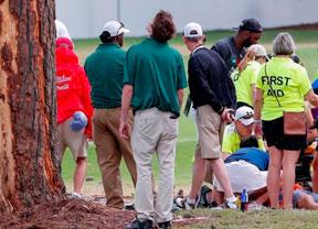 Seis heridos por un rayo en el East Lake Golf Club en Atlanta