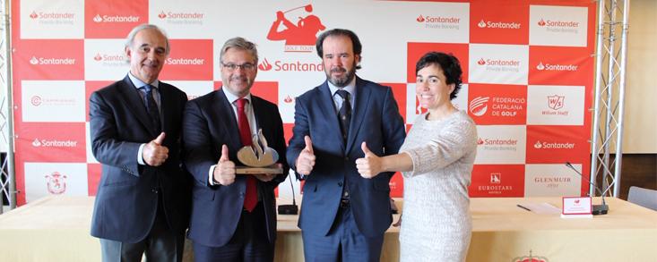 En marcha la penúltima parada del Santander Golf Tour