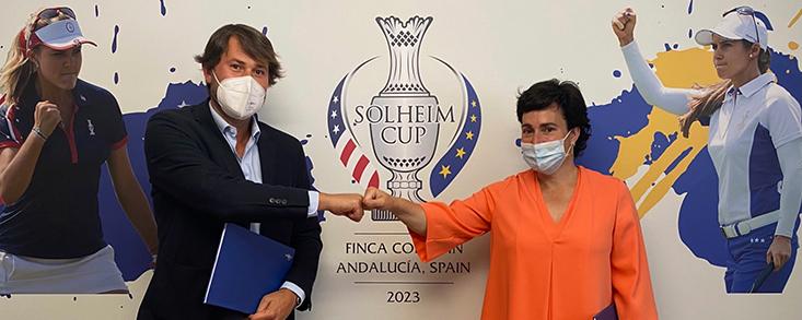 Reale Seguros se une a la familia de la Solheim Cup 2023